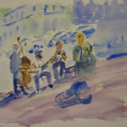 Street Musicians--Pack Square