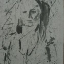 Woman on Rice Paper